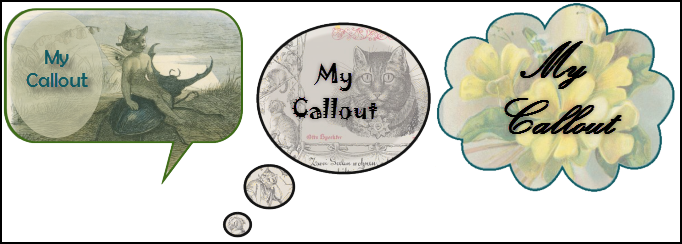 Image Background Callouts