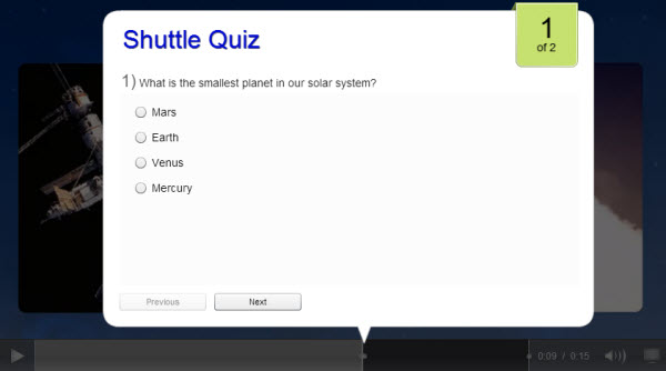 Receiving Video Quiz Results in Moodle