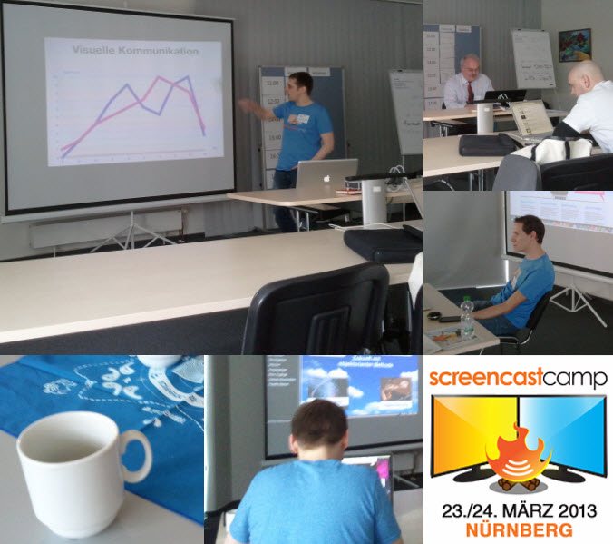 A report from ScreencastCamp Germany