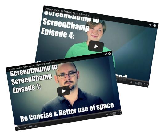 ScreenChump to ScreenChamp