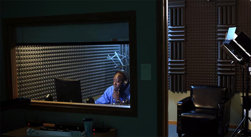 Soundproof recording studio