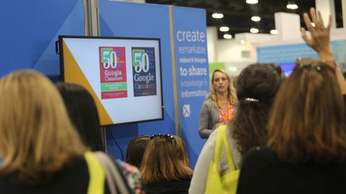 TechSmith Booth at ISTE 2016
