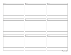 Thumbnail of downloadable storyboard
