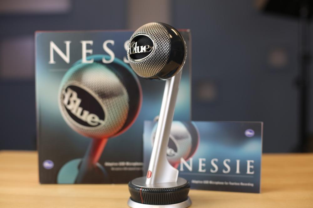 Blue Nessie Mikrofon - Welche Mikrofone eignen sich zur Vertonung von Video?