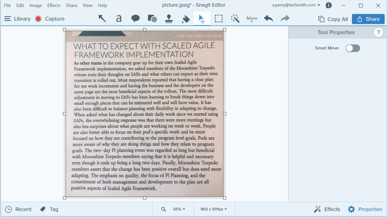 extract text from image step 1