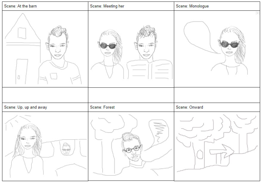 Make a storyboard for better video