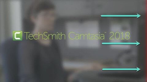 screenshot of TechSmith Camtasia video with a technical error of a red bar on the side.