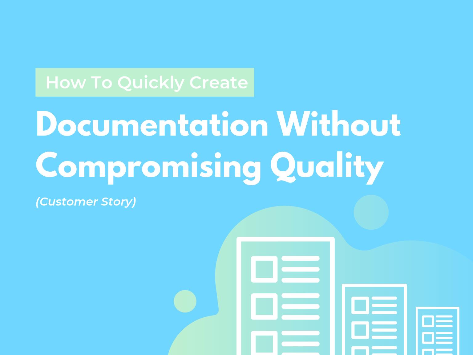 how to create documentation