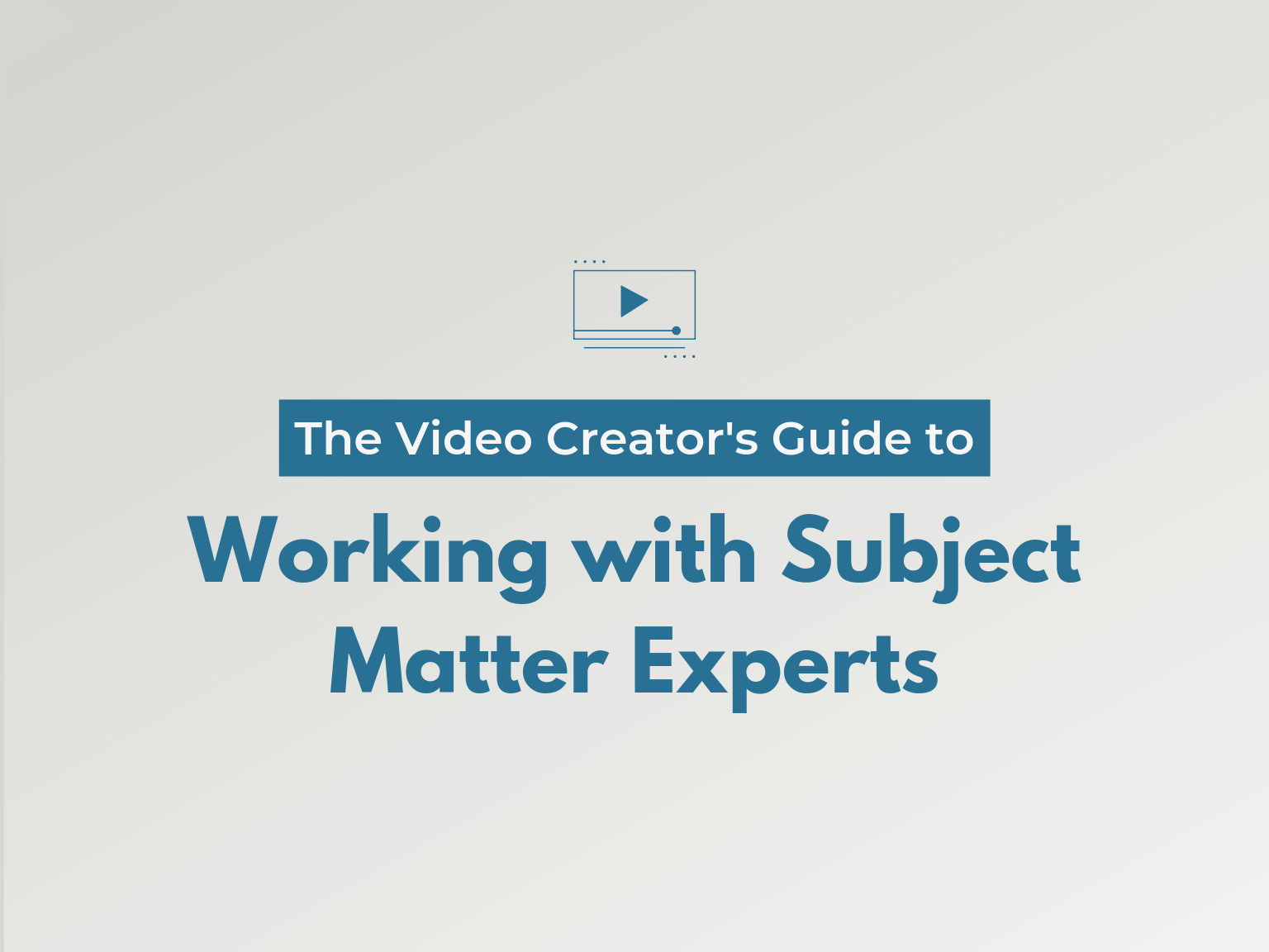 working with subject matter experts hero