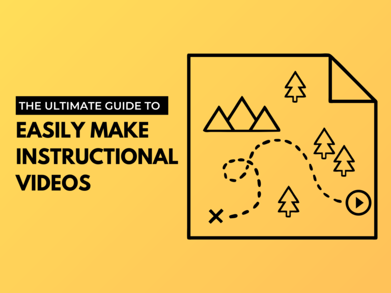 how to make instructional videos illustrated hero