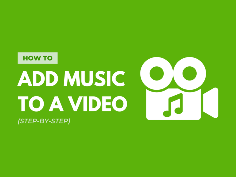 how to add music to a video header image