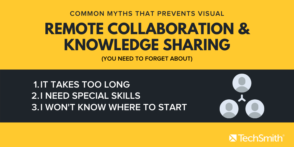 list of myths for remote collaboration