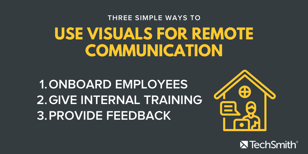 three ways for people to communicate remotely
