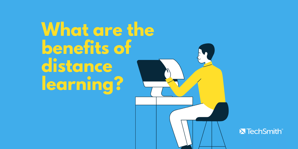 what are the benefits of distance learning
