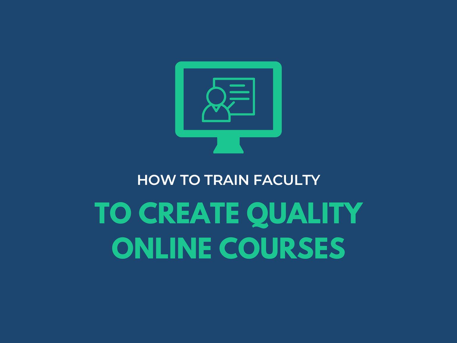 faculty create online courses hero