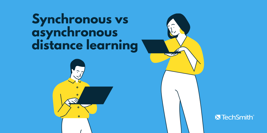 synchronous vs asynchronous distance learning