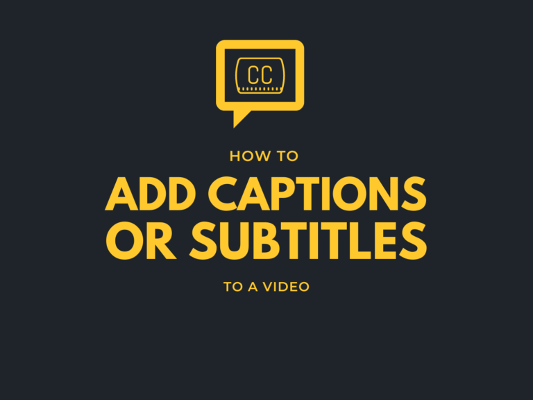 how to add captions to a video hero