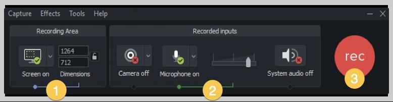 camtasia screenshot how to make a demo video windows recorder