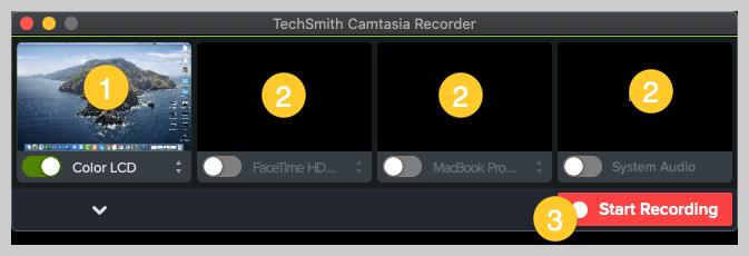 camtasia screenshot how to make a demo video mac recorder
