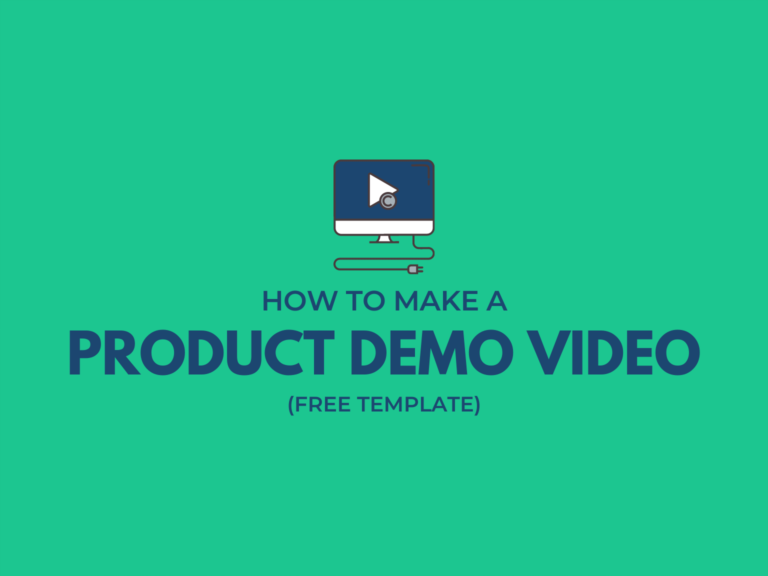 how to make a product demo video header image