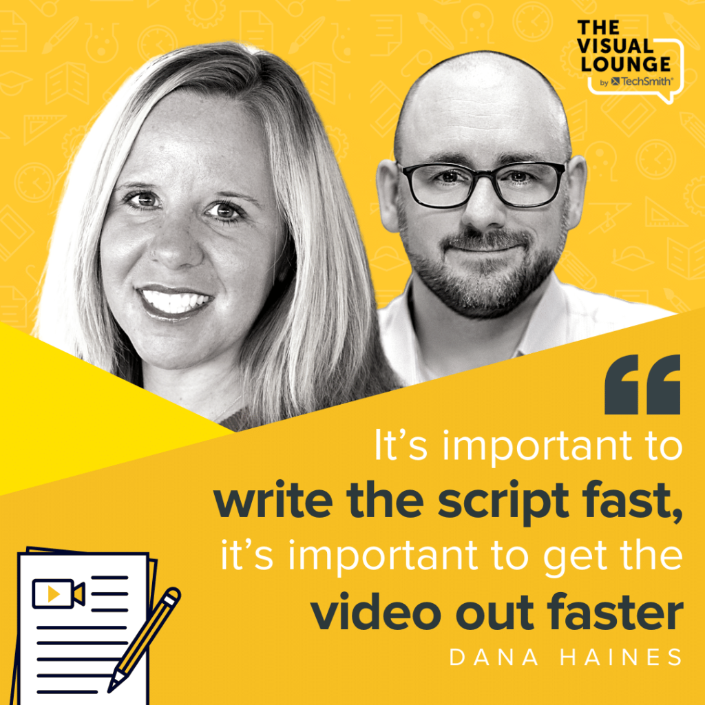 How to Write an Awesome Script (Fast) With Dana Haines