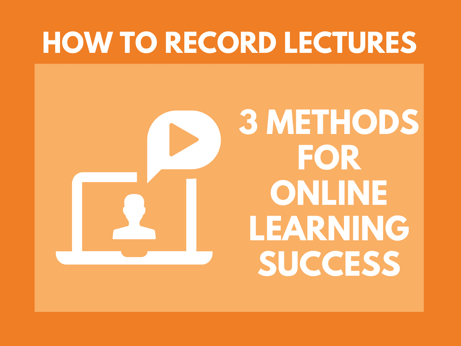 record lectures hero graphic