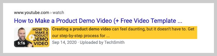 youtube description example