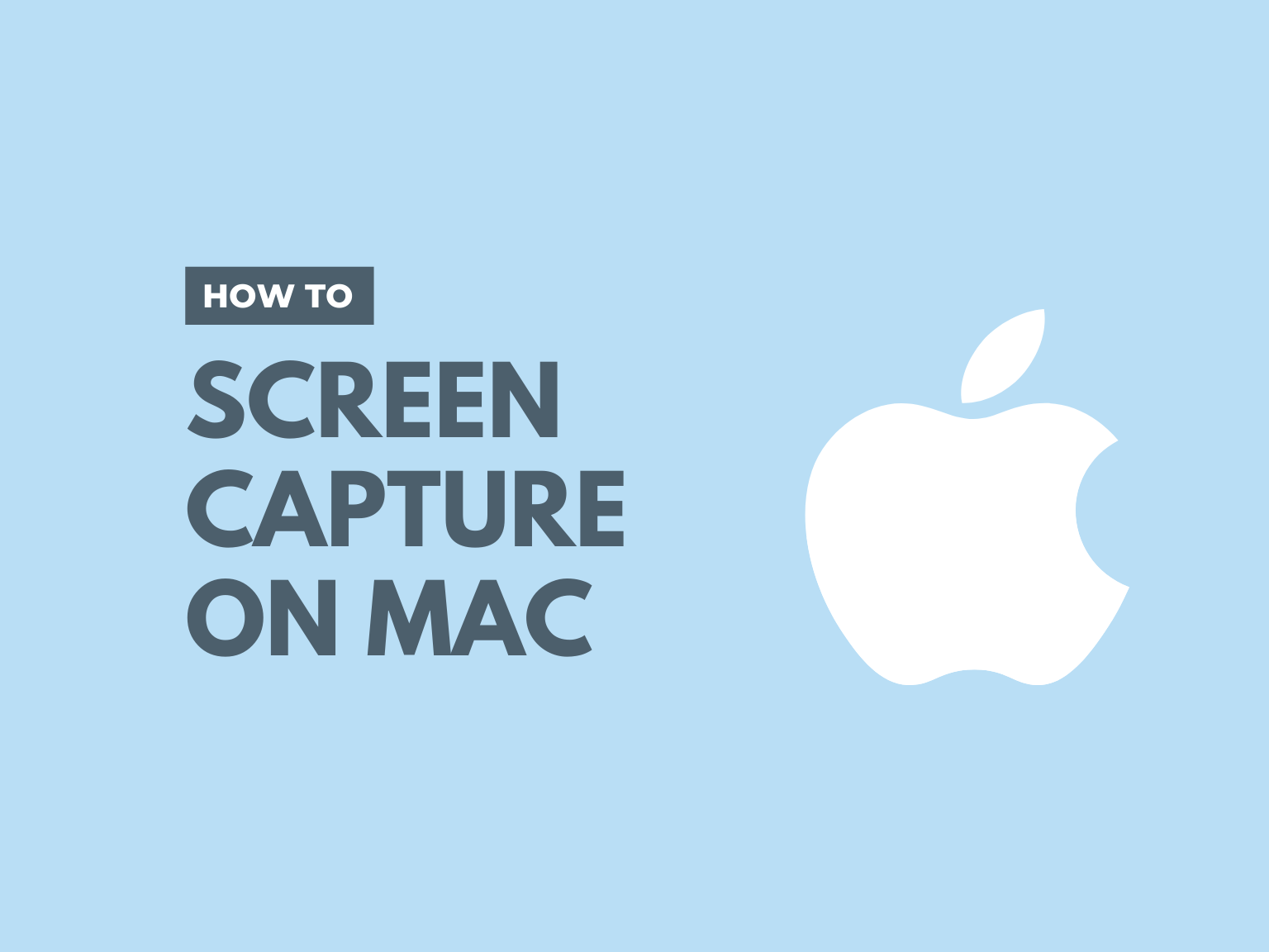 How to Screen Capture on Mac