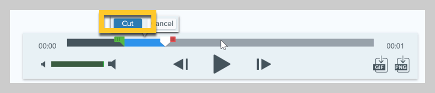 How to trim a video in Snagit