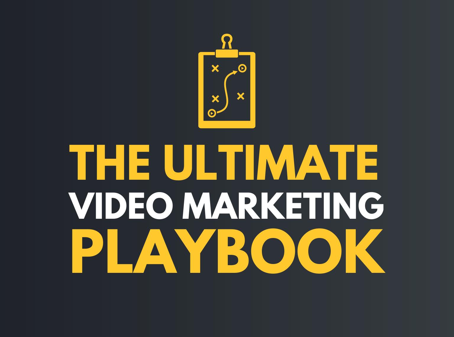 video marketing playbook hero graphic