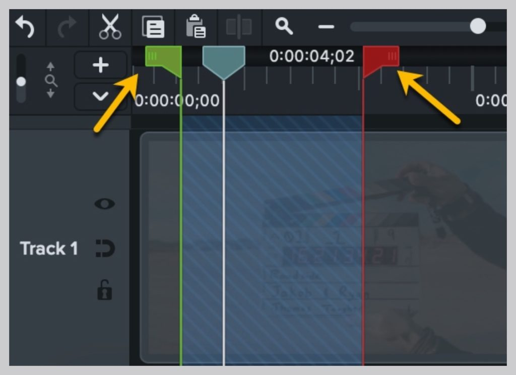 How to trim a video with Camtasia