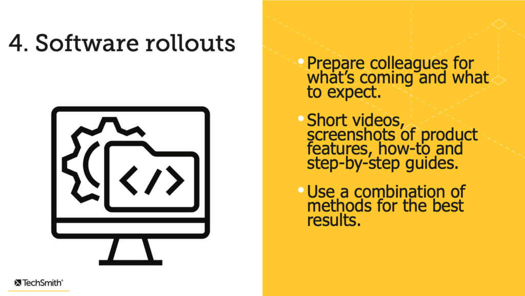Software rollouts