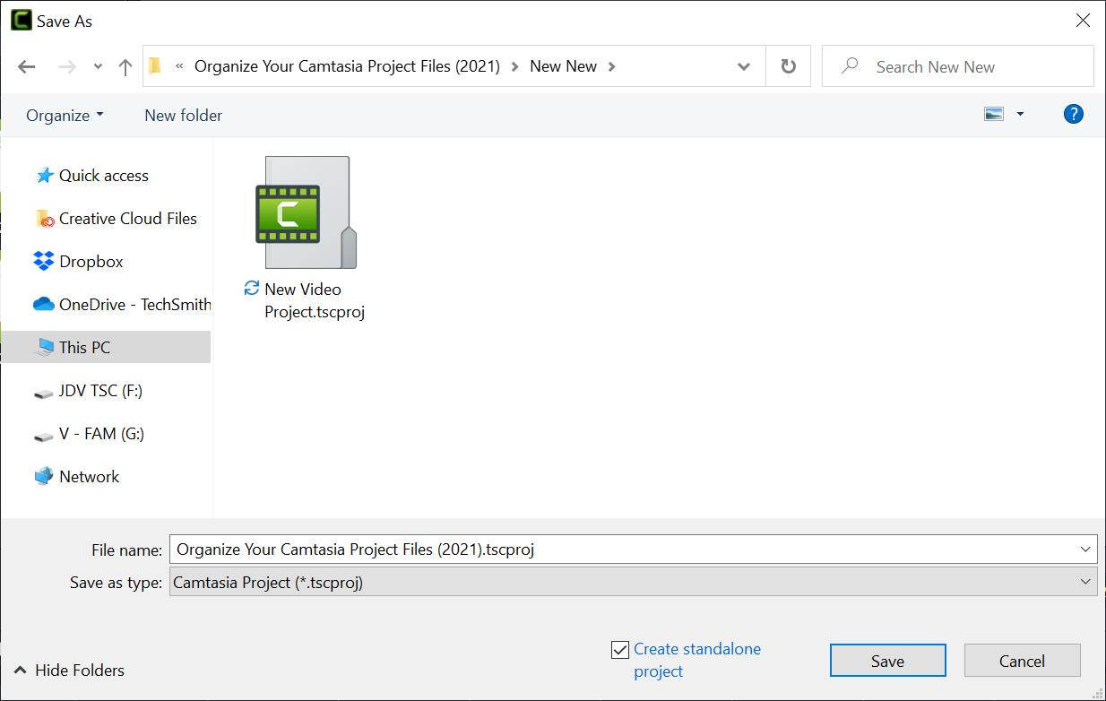 Windows file explorer menu