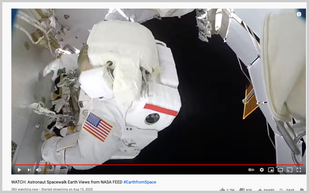 An example of a live video.